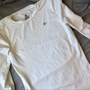 Starter Long Sleeve Compression Garment XXL White